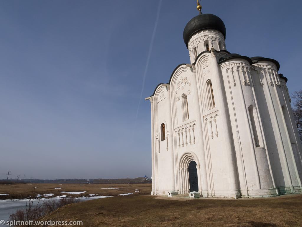 Путешествия  Боголюбово. Боголюбовский луг и церковь Покрова на Нерли