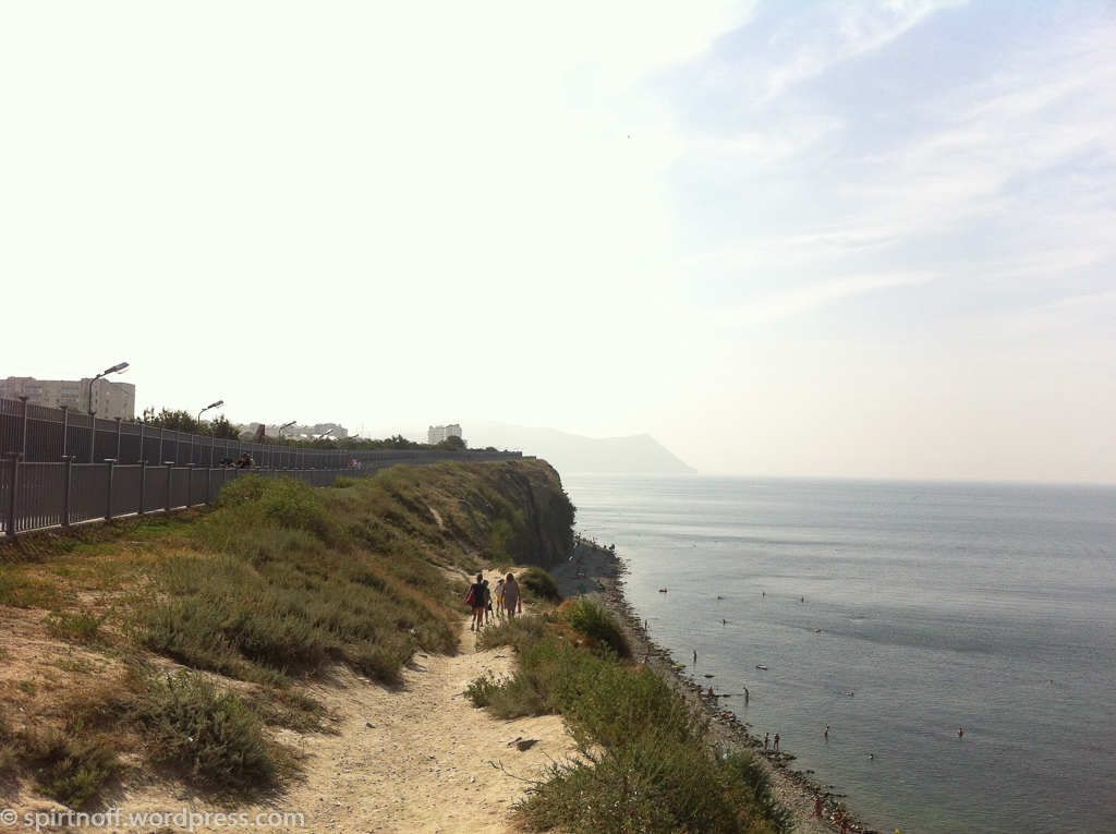 Путешествия  Анапа. Море и скалы