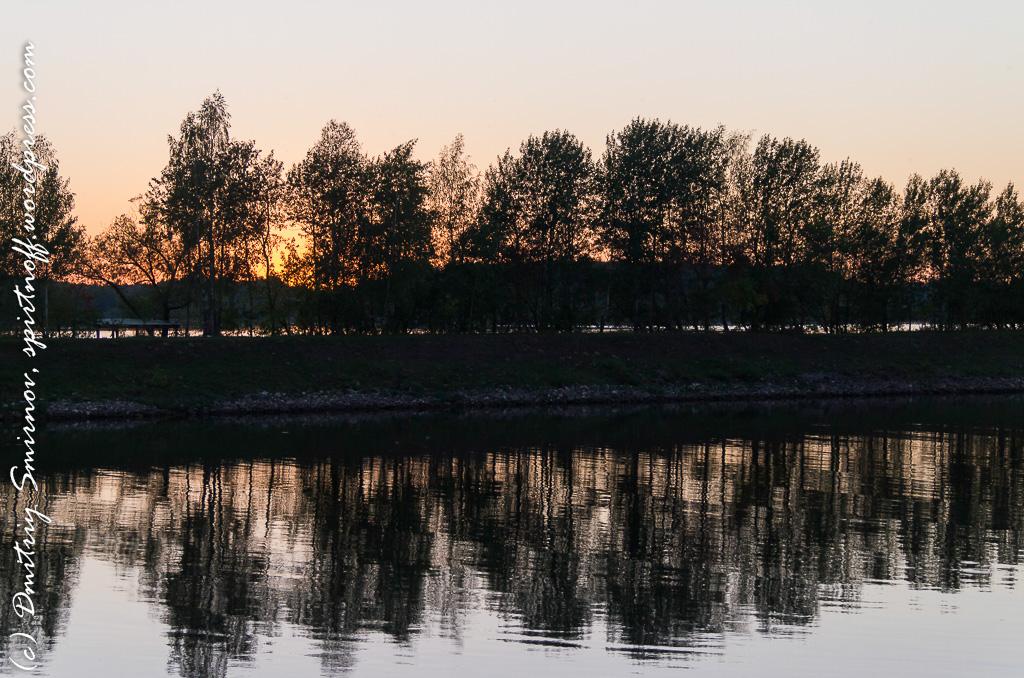 Путешествия  Дубна или осень пришла не заметно, но куда от нее дется