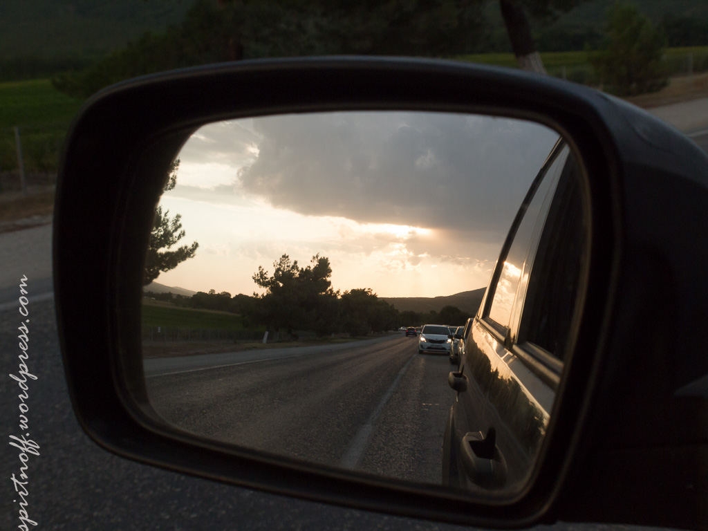 Путешествия  Юг-'14. Внезапный закат