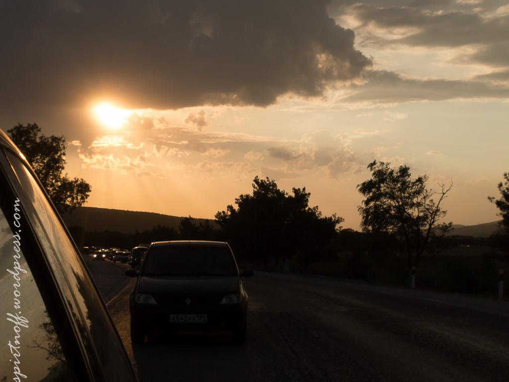 blog-47-of-732 Путешествия  Юг-'14. Внезапный закат
