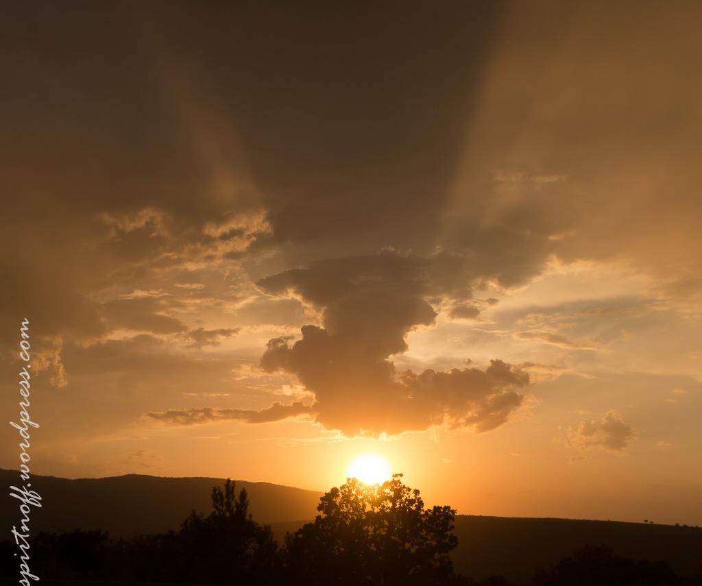 blog-65-of-731 Путешествия  Юг-'14. Внезапный закат