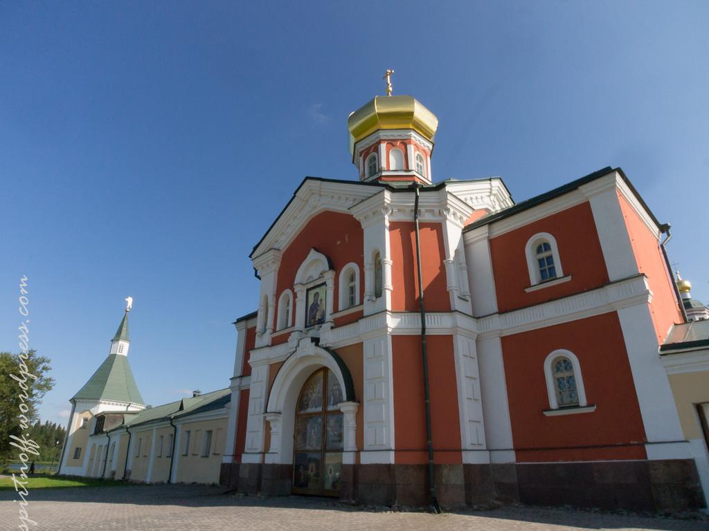 Путешествия  Валдайский Иверский Монастырь - С большой земли (Раскол.1)