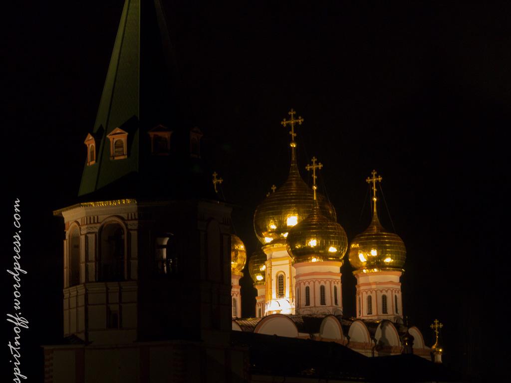 Путешествия  Валдайский Иверский монастырь - Ночь (Раскол.3)