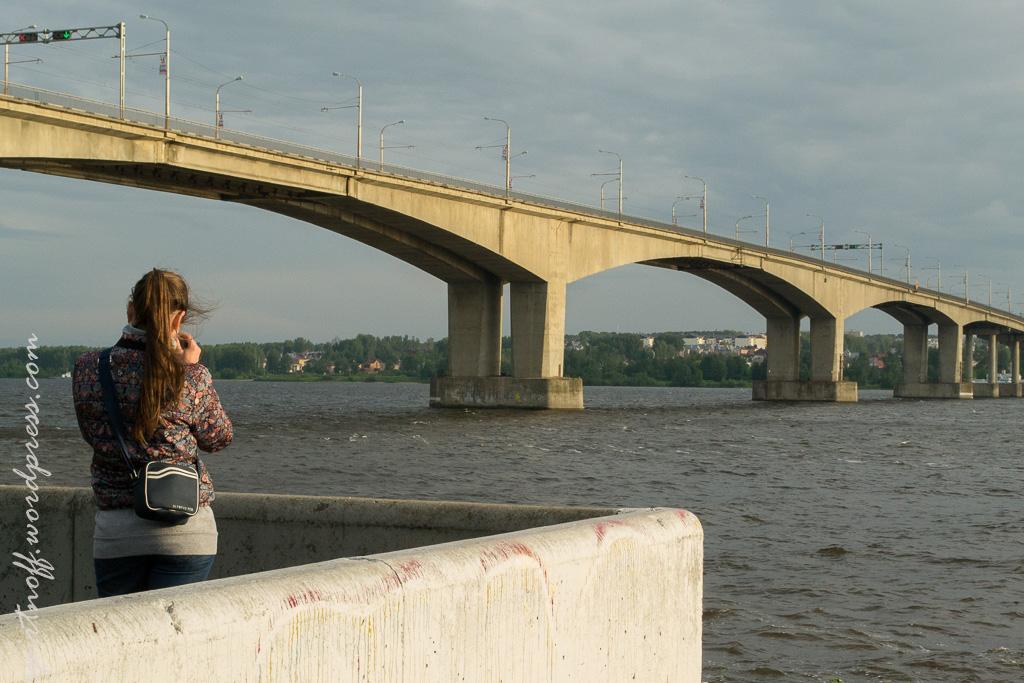 blog-20-of-163 Путешествия  Кострома. Набережная Волги
