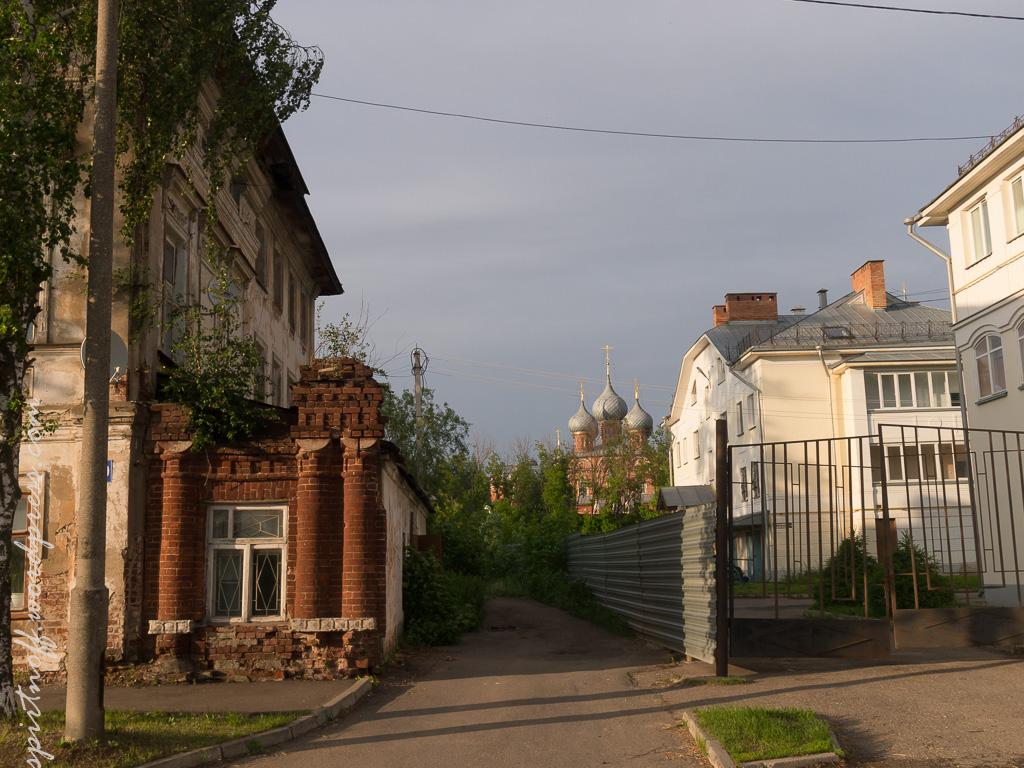 blog-24-of-202 Путешествия  Кострома. Набережная Волги