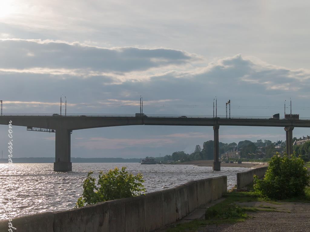blog-25-of-202 Путешествия  Кострома. Набережная Волги