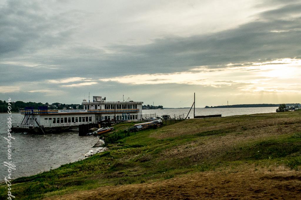 blog-27-of-163 Путешествия  Кострома. Набережная Волги
