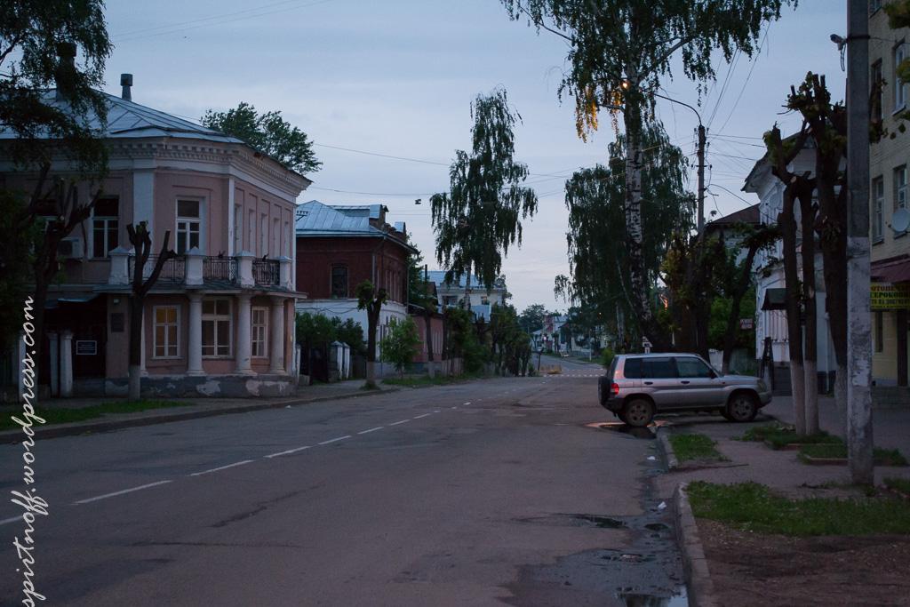 blog-49-of-163 Путешествия  Кострома. Ночь
