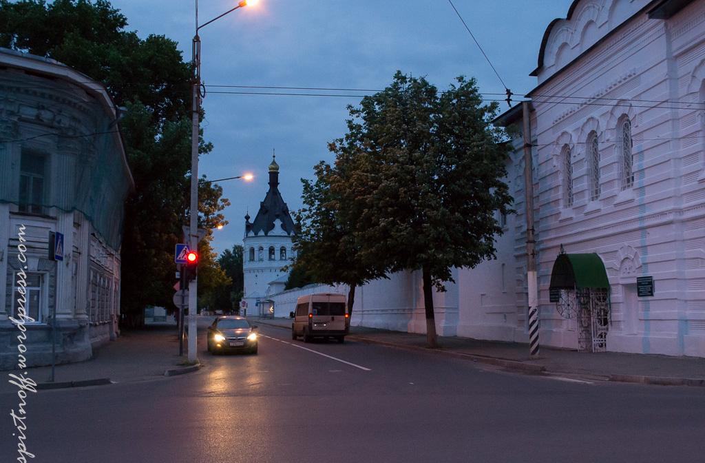 blog-55-of-163 Путешествия  Кострома. Ночь