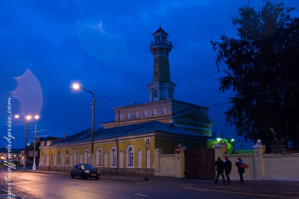 blog-64-of-163 Путешествия  Кострома. Ночь