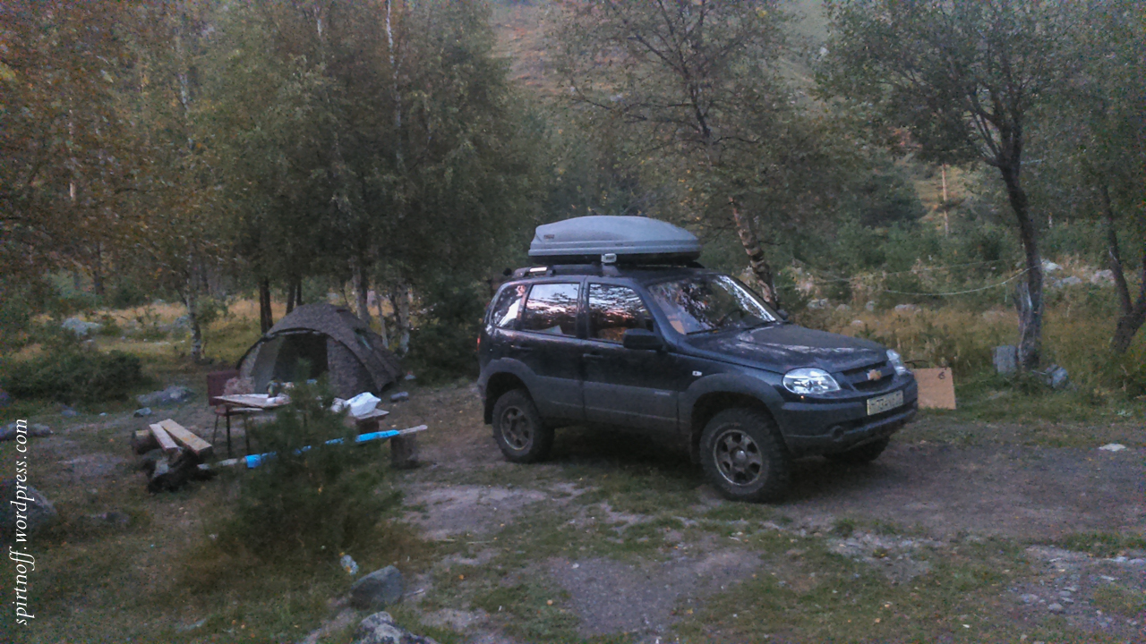Путешествия  Терскол. Лагерь