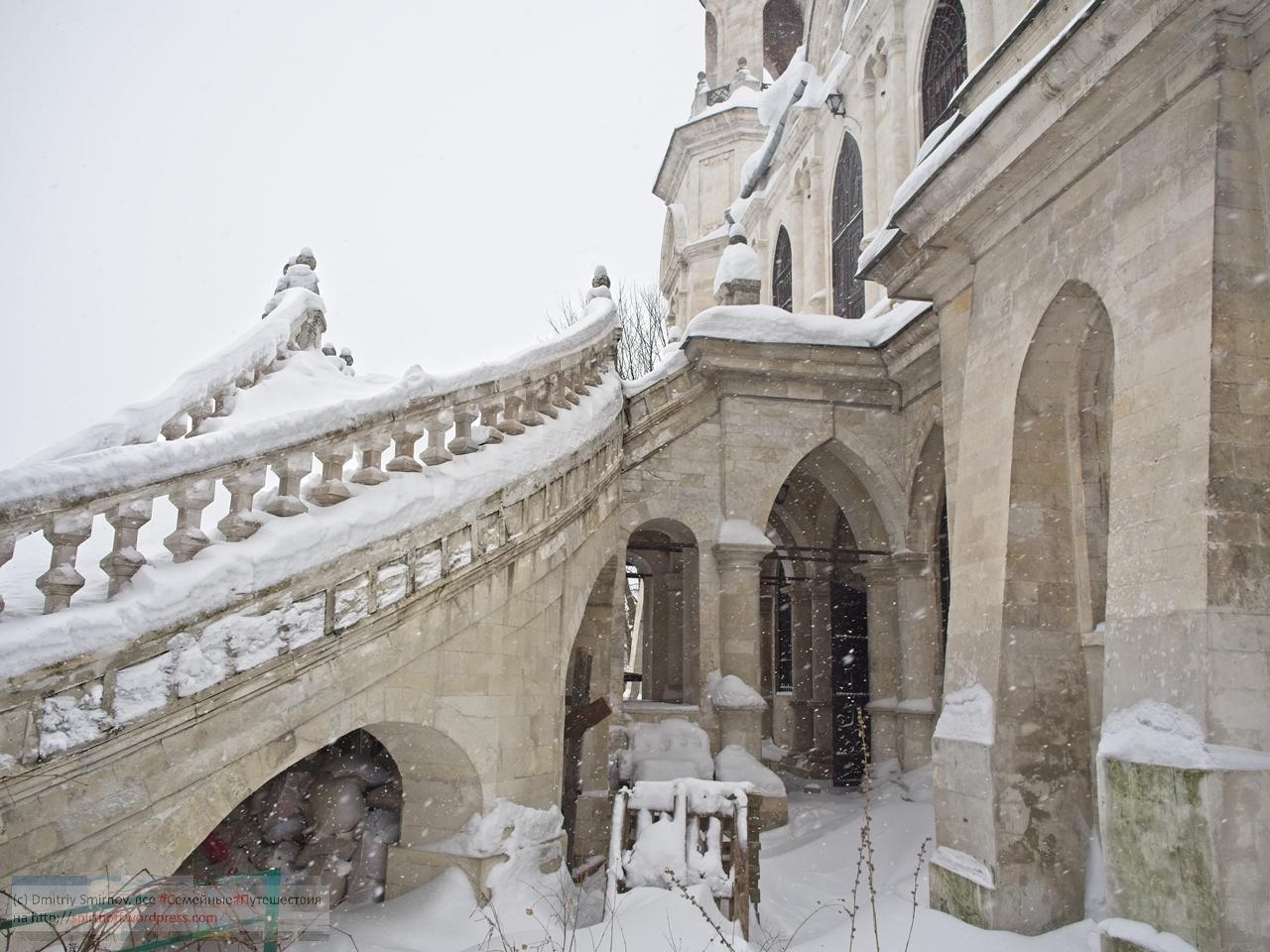 SMI11207-Blog-40 Всякое  Та самая готишная церковь и горка усадьбы Быково