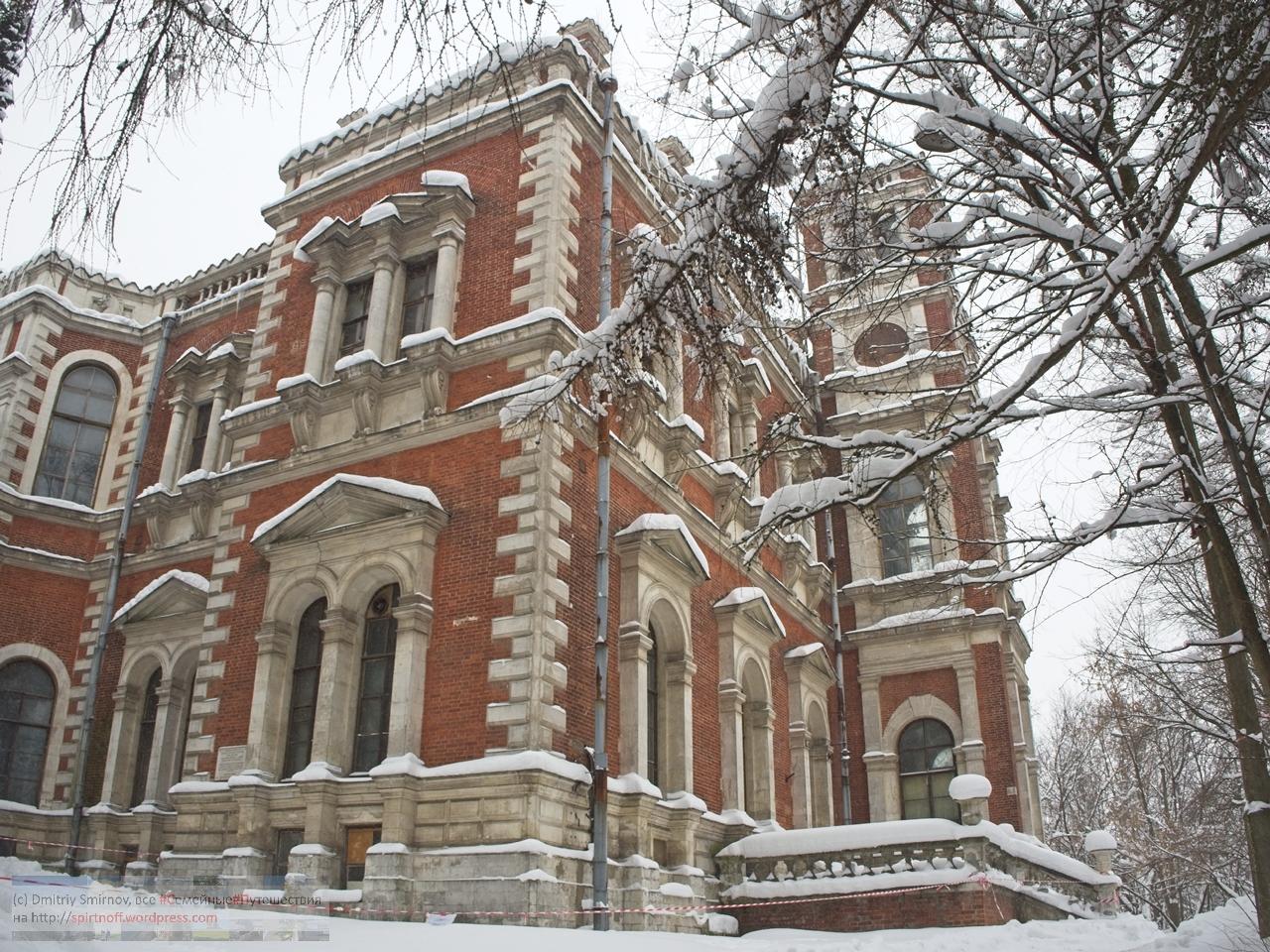 SMI11340-Blog-38 Всякое  Та самая готишная церковь и горка усадьбы Быково