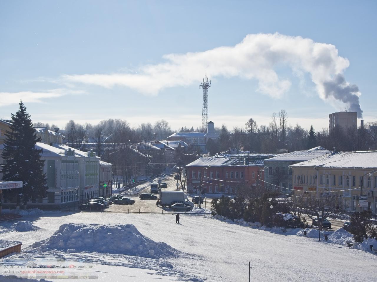 Путешествия  Волоколамск. Февраль, снег, мороз и солнце!