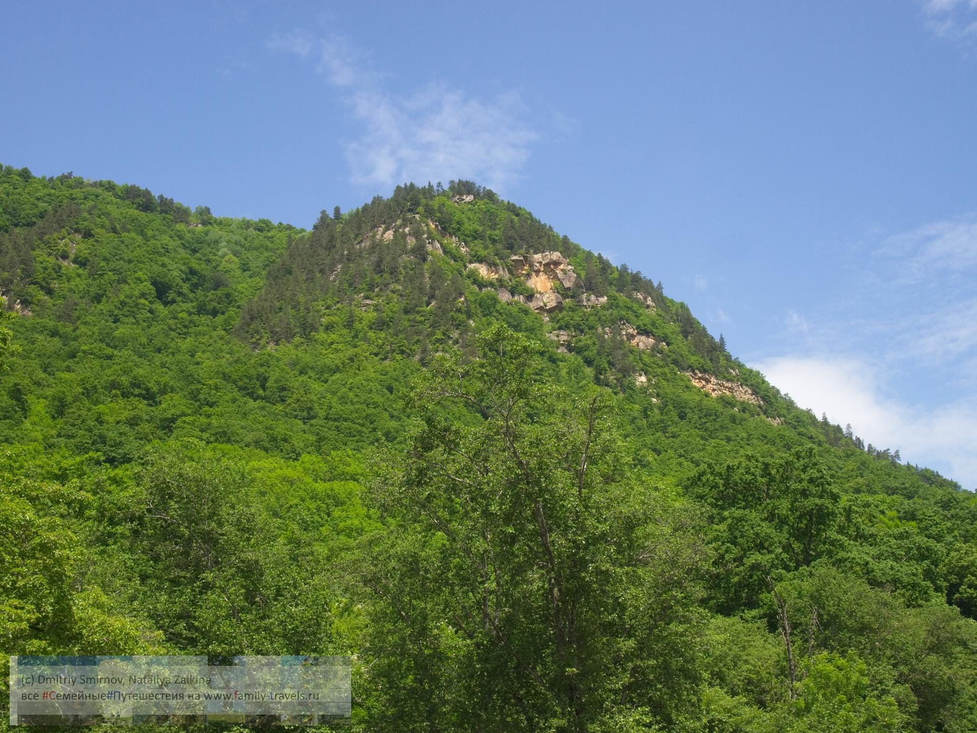 Путешествия  Гора Монах (трек)