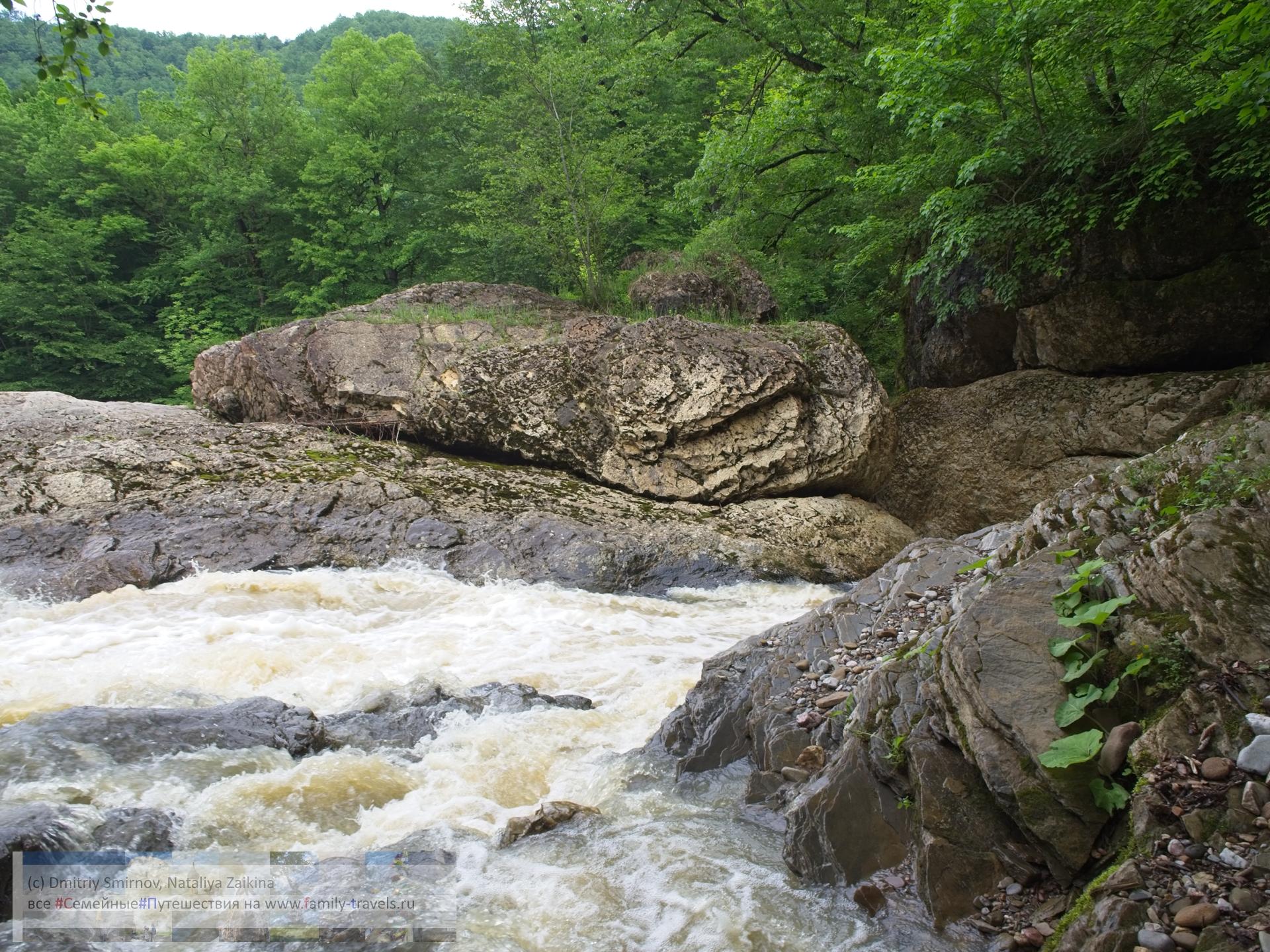 Blog-014 Путешествия  Два водопада