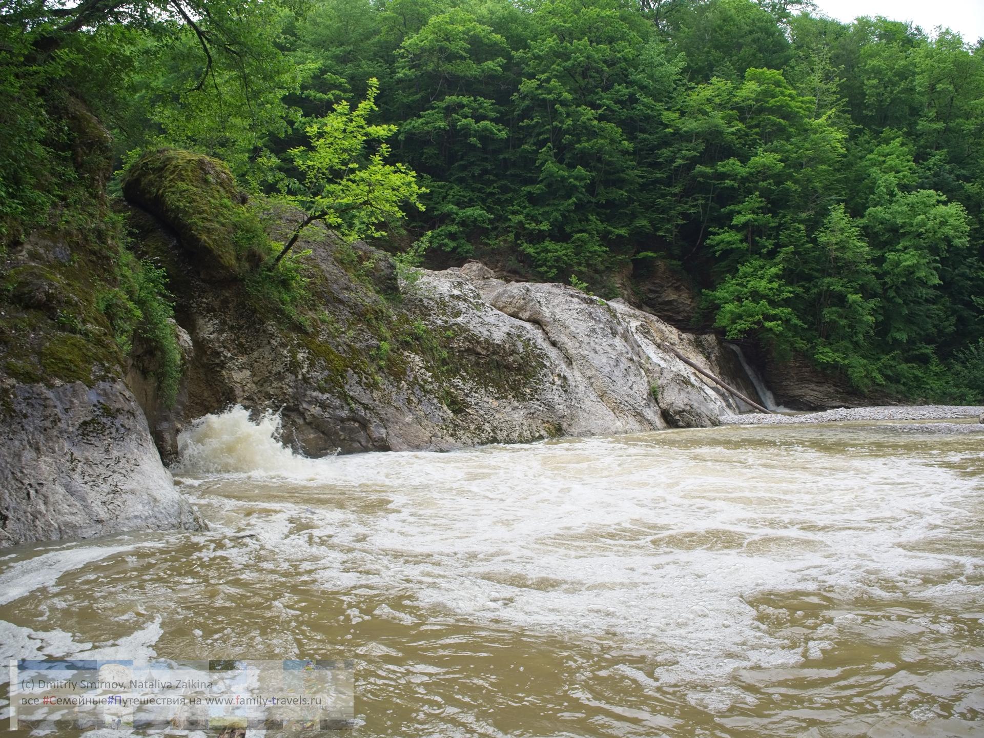 Путешествия  Два водопада