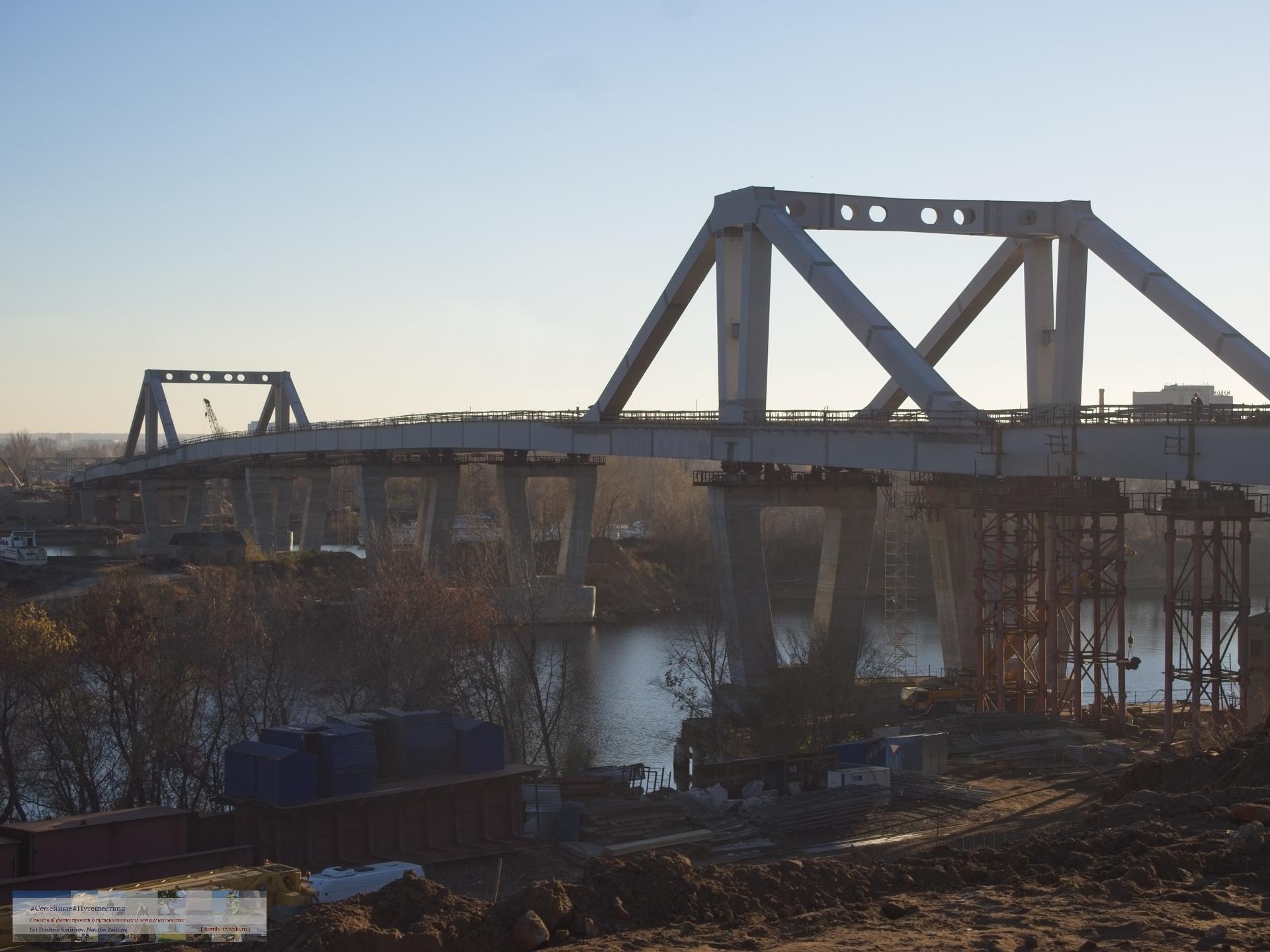 Путешествия  Бегом по Самаре (два моста и техноген)