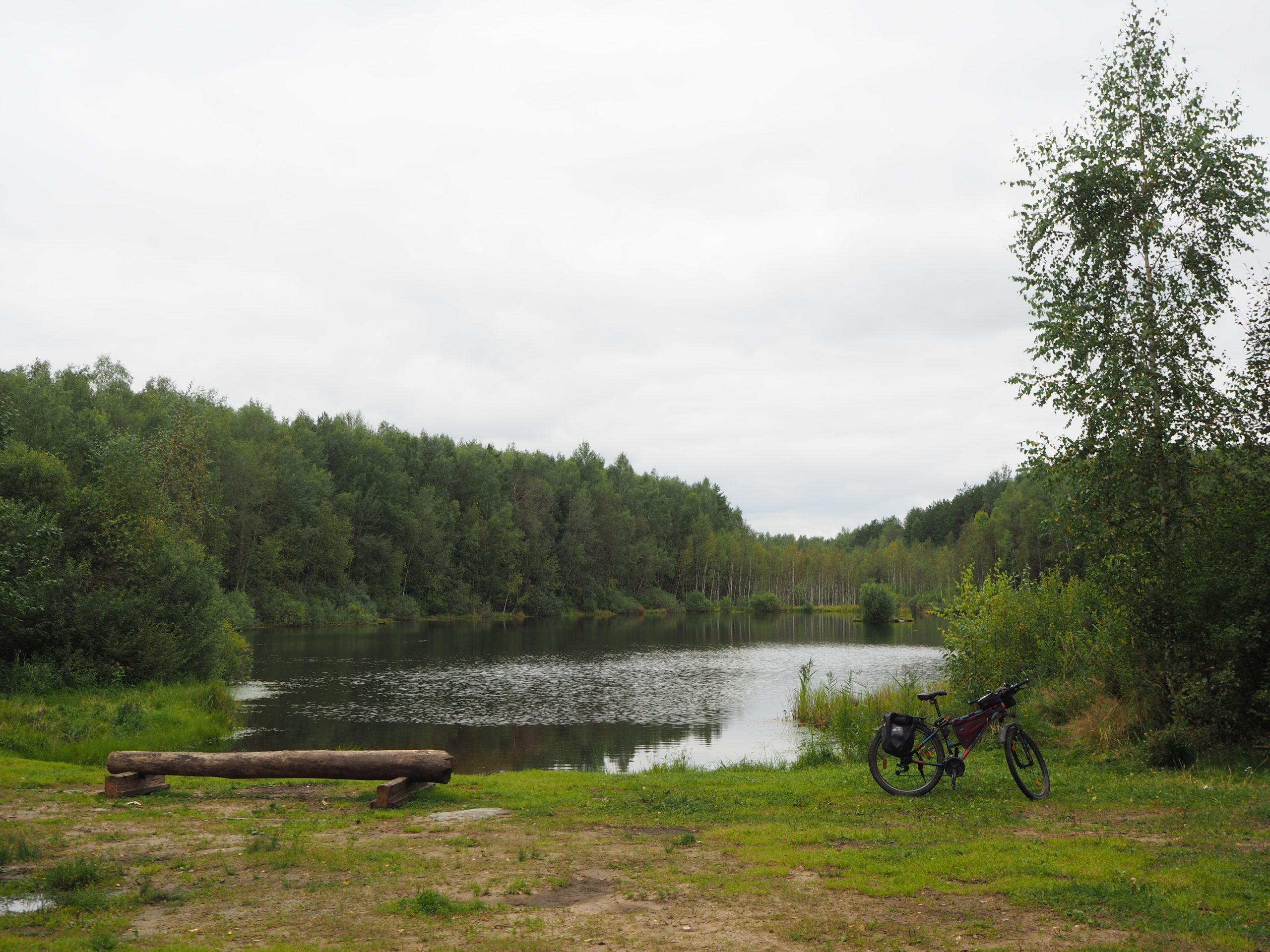Просто фото  Торфяное озеро в Топорково